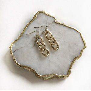 Gold Chainlink Earrings